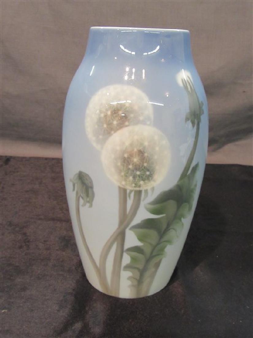 Bing & Grondahl Dandelion Porcelain Vase, Denmark