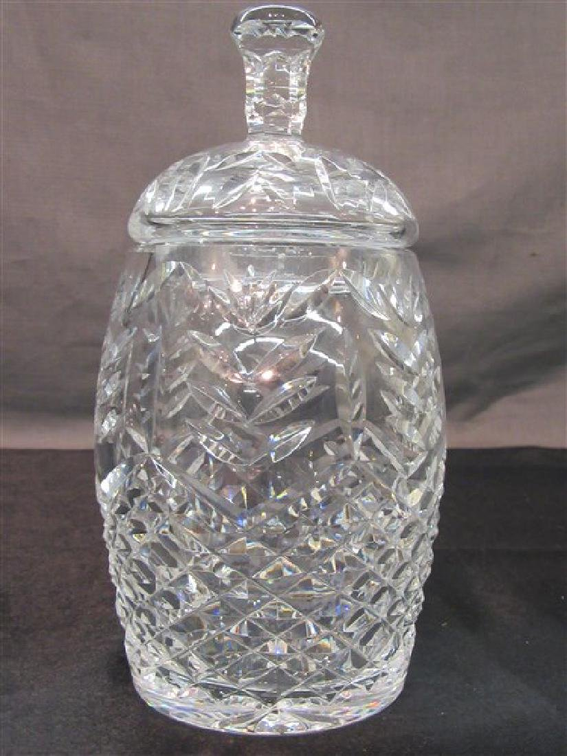 Waterford Crystal Covered Jar