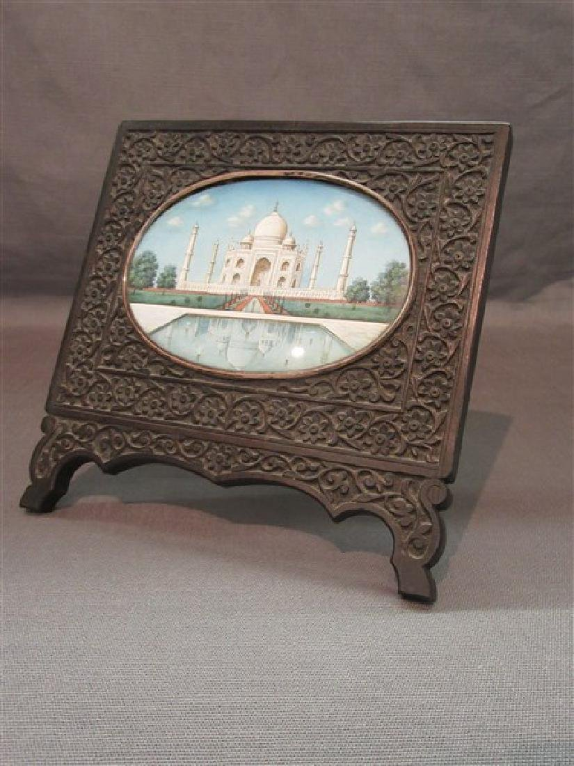 19th Century Anglo-Indian Taj Mahal Painting