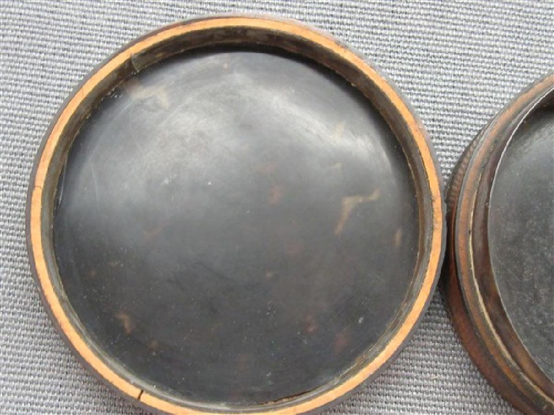 19th c. English Snuff Box With Oil Portrait - 4