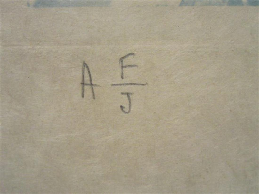 "Hand signed Salvador Dali ""Hommage A Cranach""  Etching - 3"