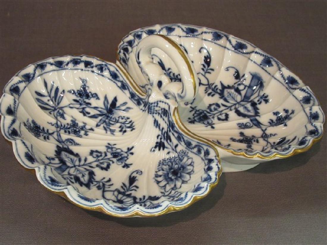 Meissen Porcelain Divided Tray