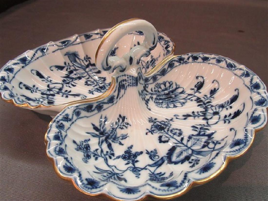 Meissen Porcelain Divided Tray - 3