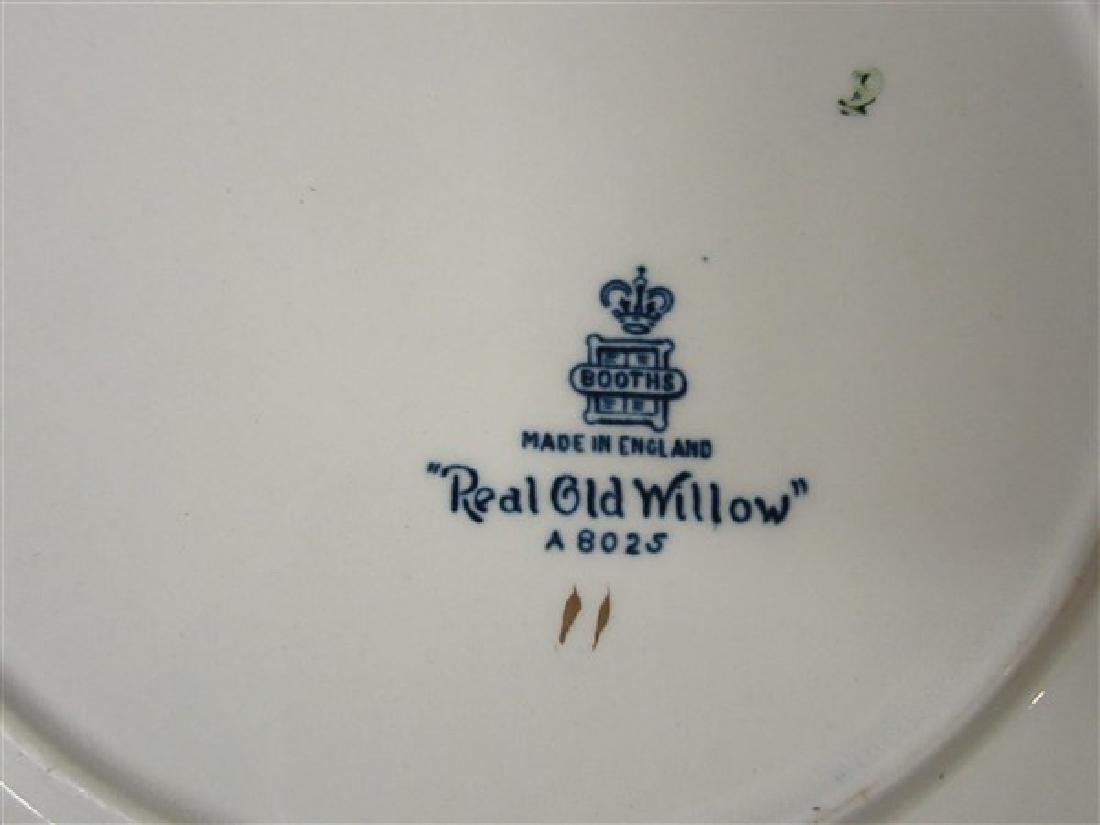 "Booth's ""Real Old Willow"" 84 Piece China Service - 5"