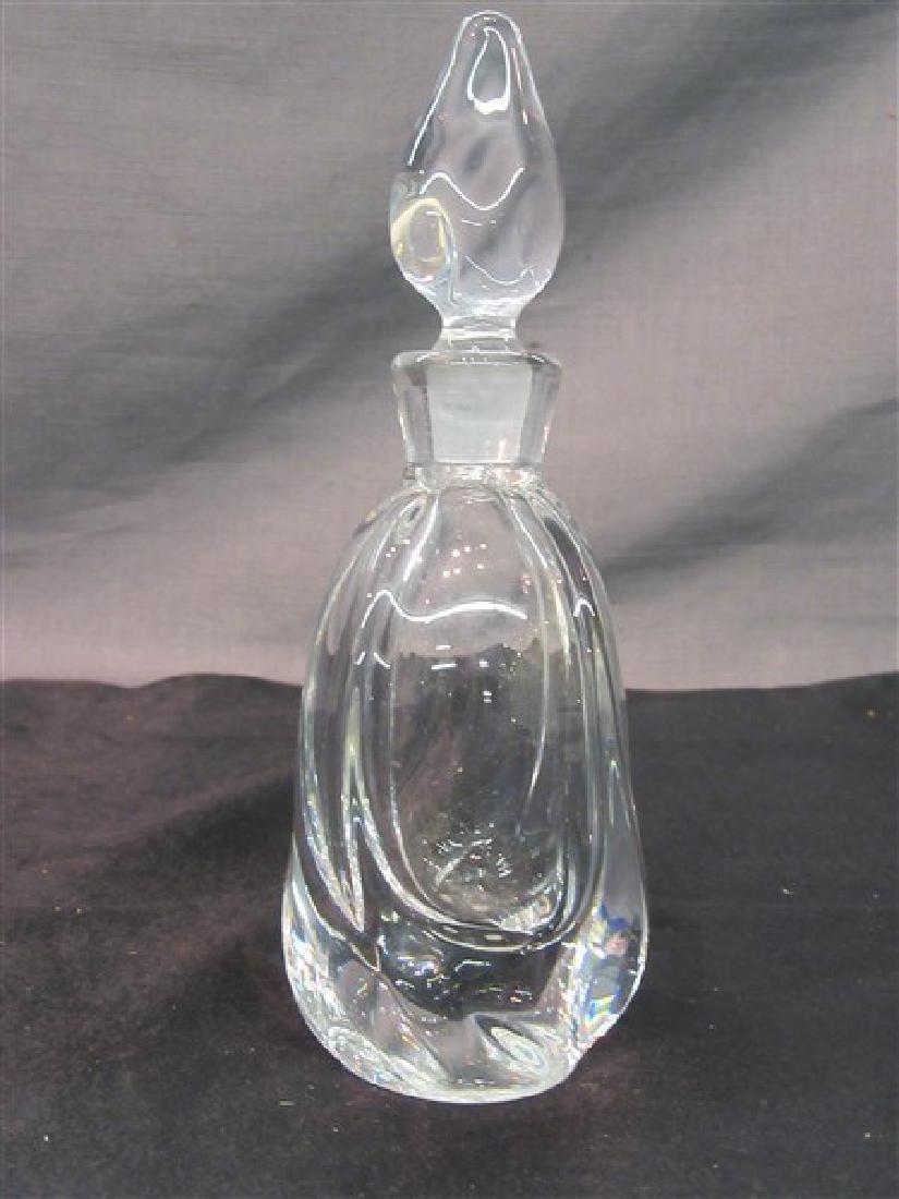 Daum, France Crystal Bottle