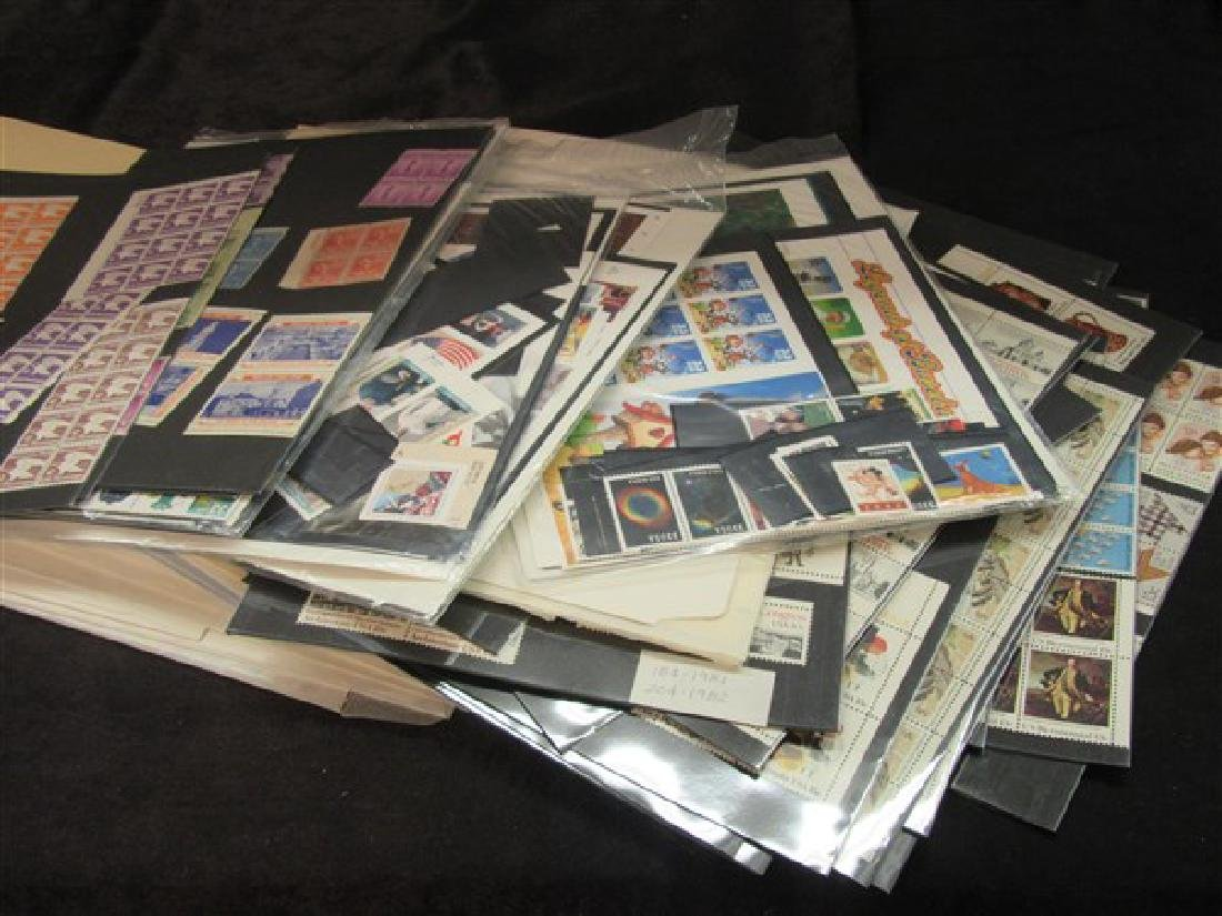Stamp Collection $650 Face Value