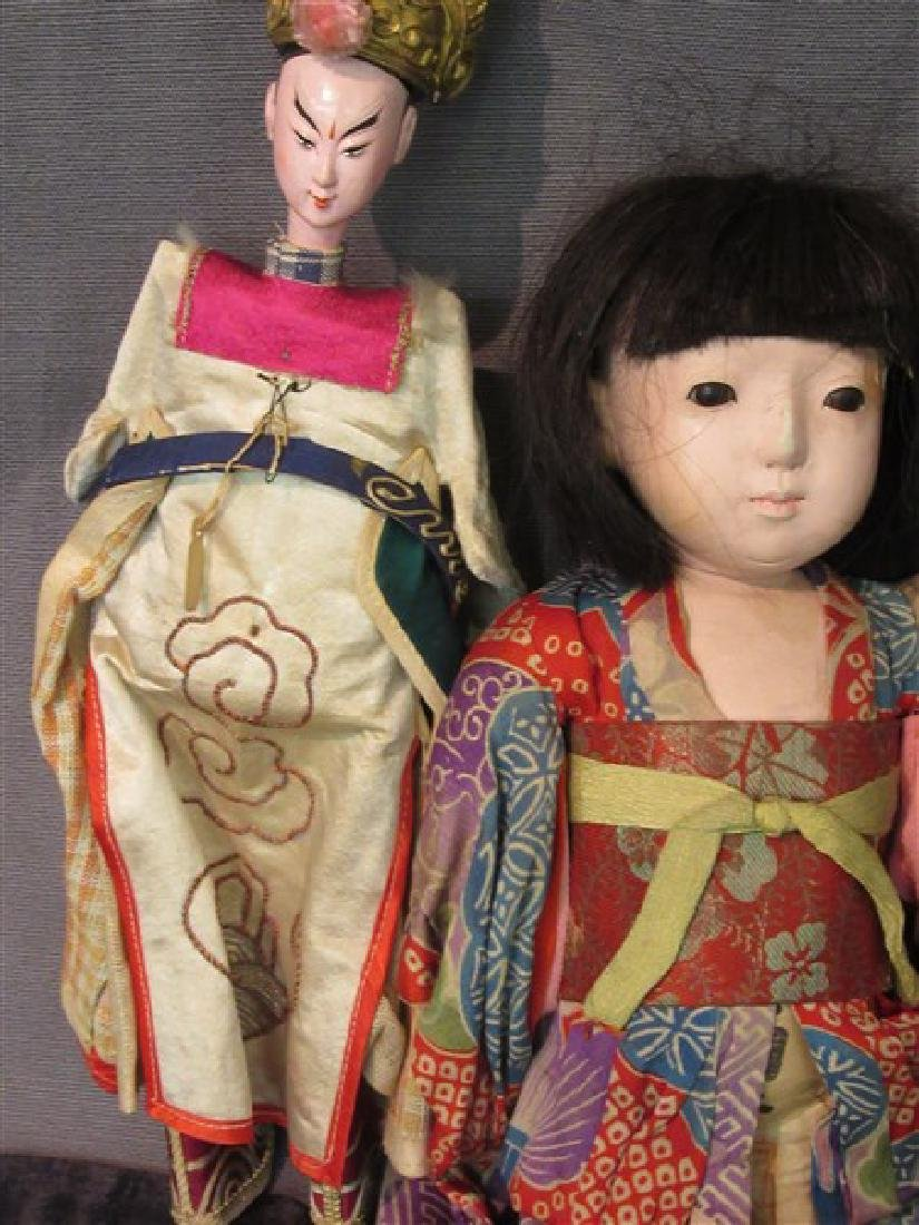 Vintage Chinese And Japanese Dolls - 3