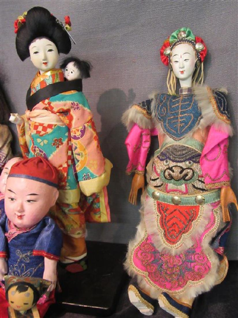 Vintage Chinese And Japanese Dolls - 4