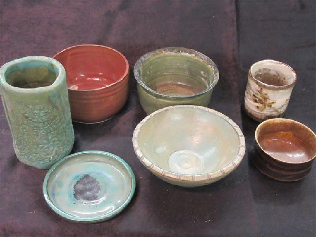 Seven (7) Piece Art Pottery Grouping