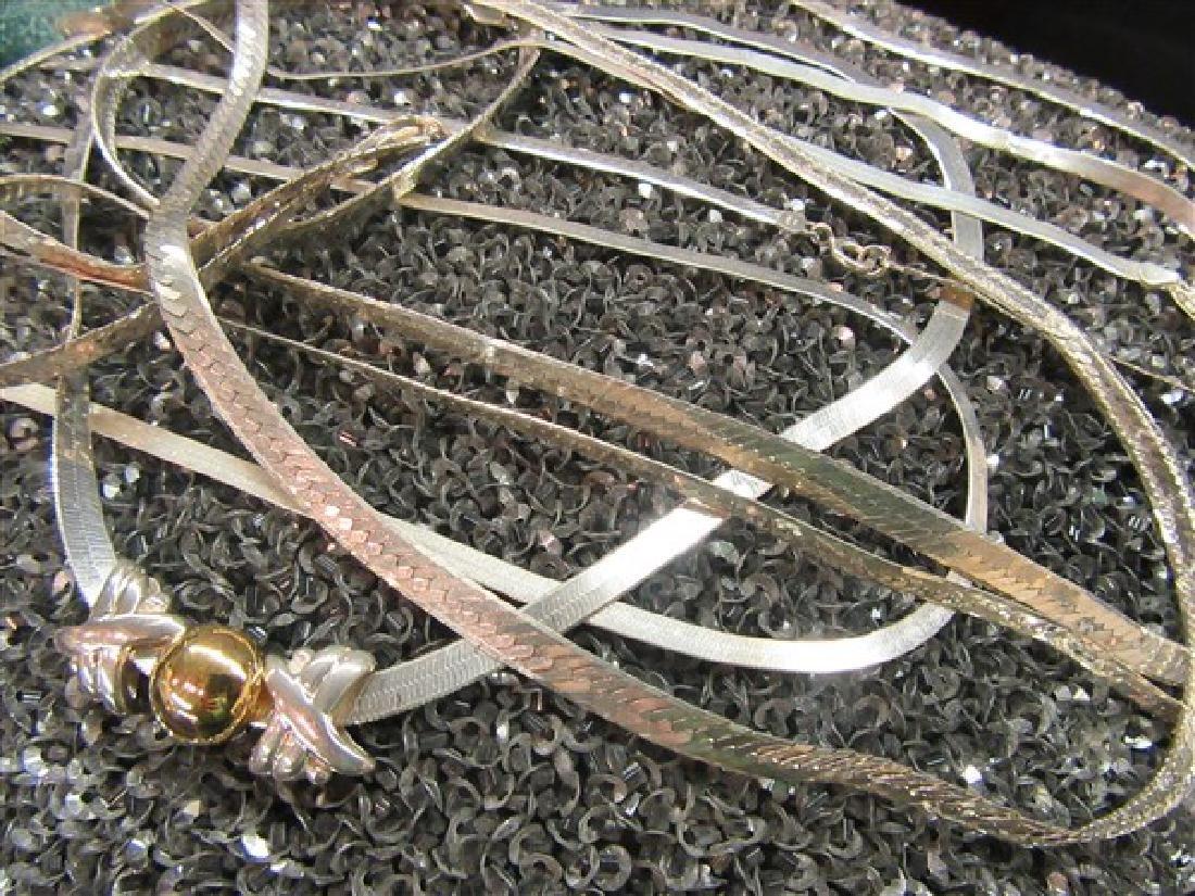 Sterling Silver Herringbone Jewelry