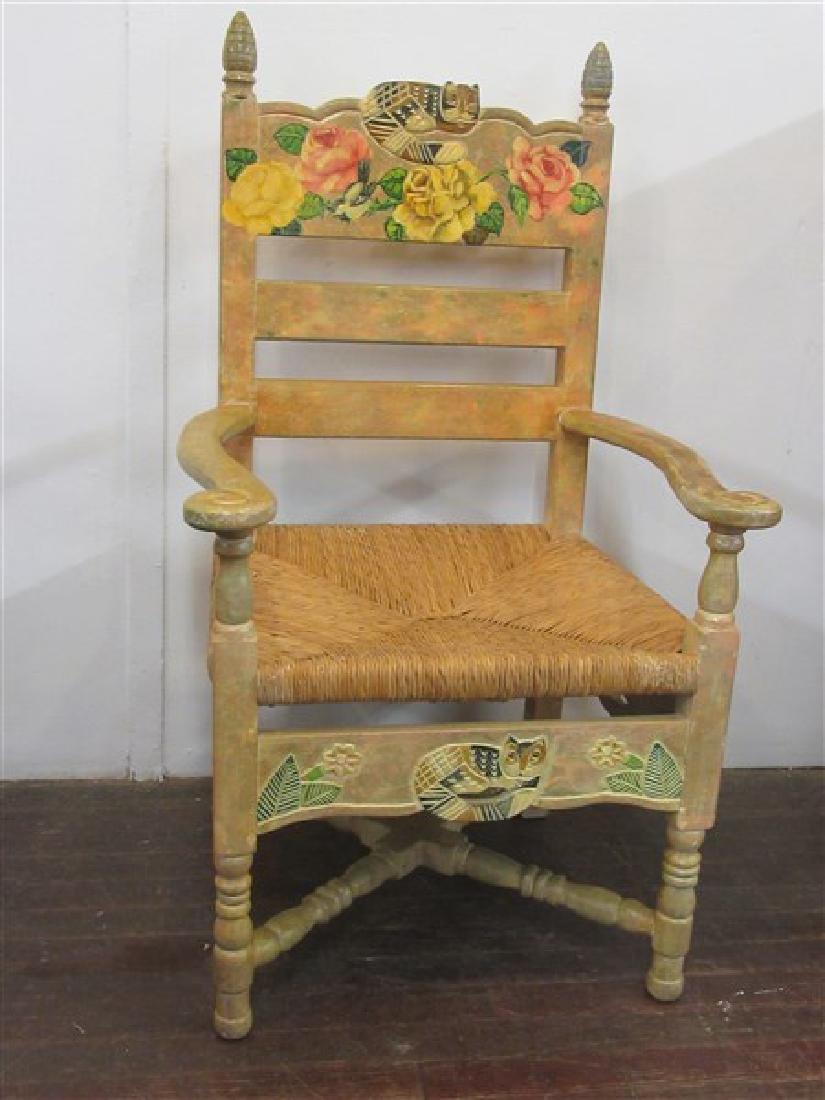 "Disenos Caaesa  Oversized ""Cat"" Arm Chair, Mexico"