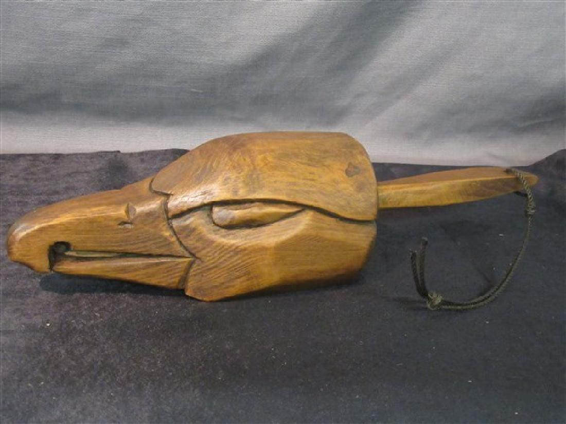 Dick Steele (Maine, 20th c. ) Carved Eagle