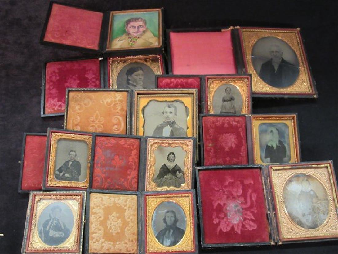Ten (10) Piece Daguerreotype Photographs