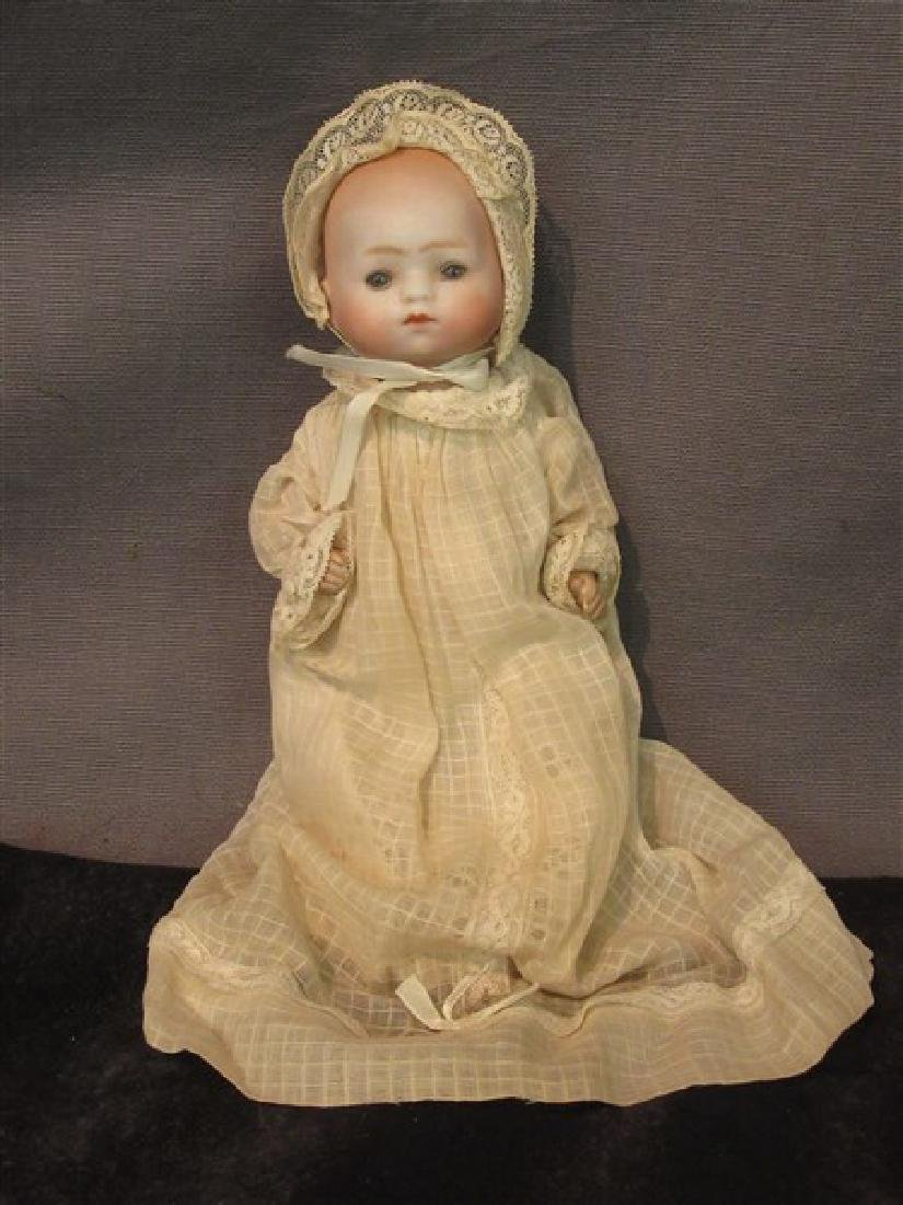 "German Bisque ""Bye Lo"" Style Baby Doll"