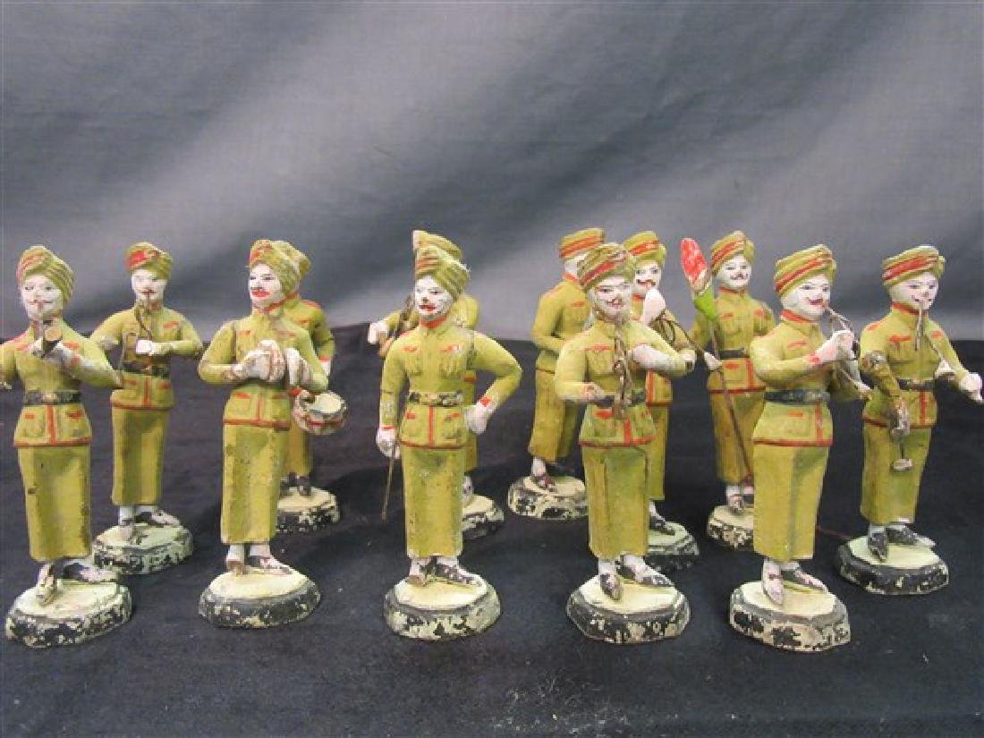 India, Indian Composition Toy Marching Band  Soldiers