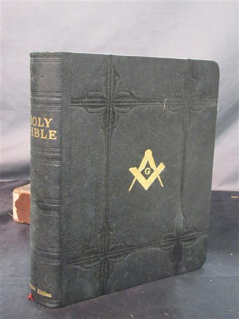 1932 Masonic Bible