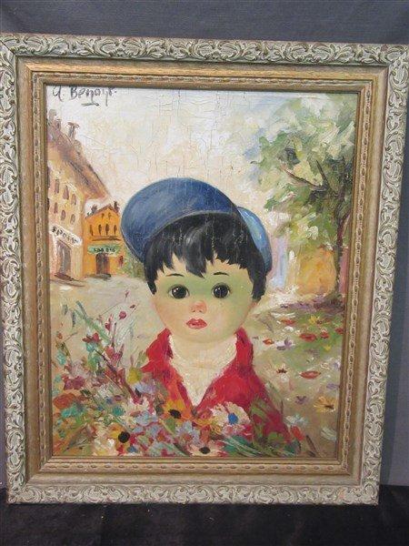 c. 1960 Realism Portrait