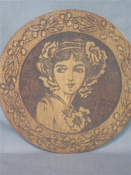 Art Nouveau Flemish Art Female