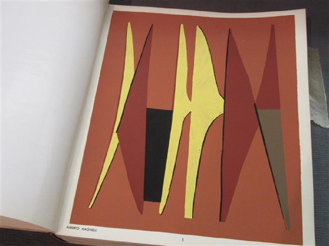 Temoignages Pour L'Art Abstrait w/ Lithographs 1952 - 5