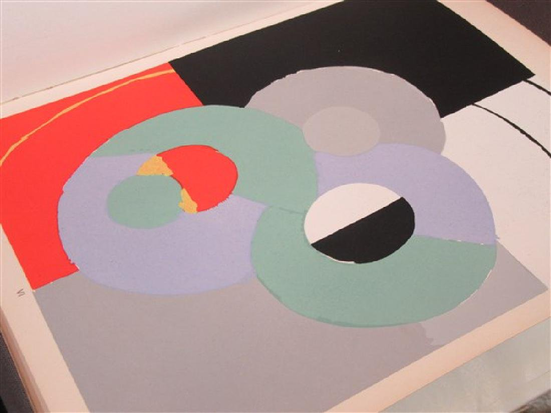 Temoignages Pour L'Art Abstrait w/ Lithographs 1952 - 8