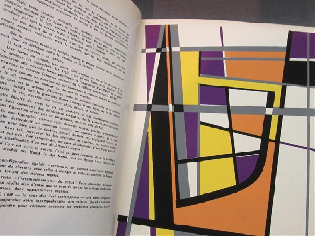 Temoignages Pour L'Art Abstrait w/ Lithographs 1952 - 9