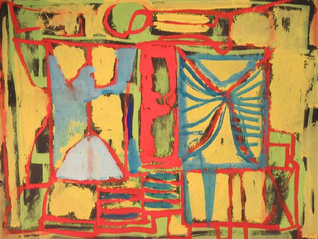 William Baziotes (American, 1912-1963) Abstract