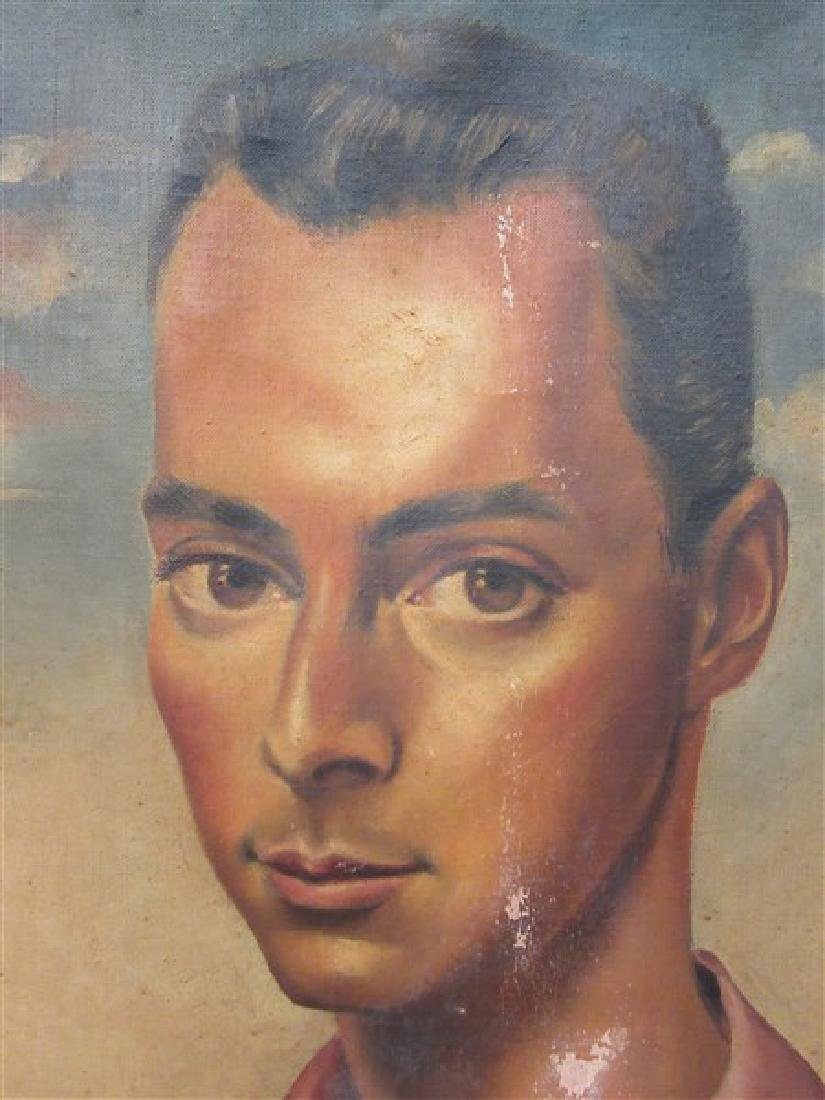 Peter Sheil (20th c. American) Male Portrait - 5