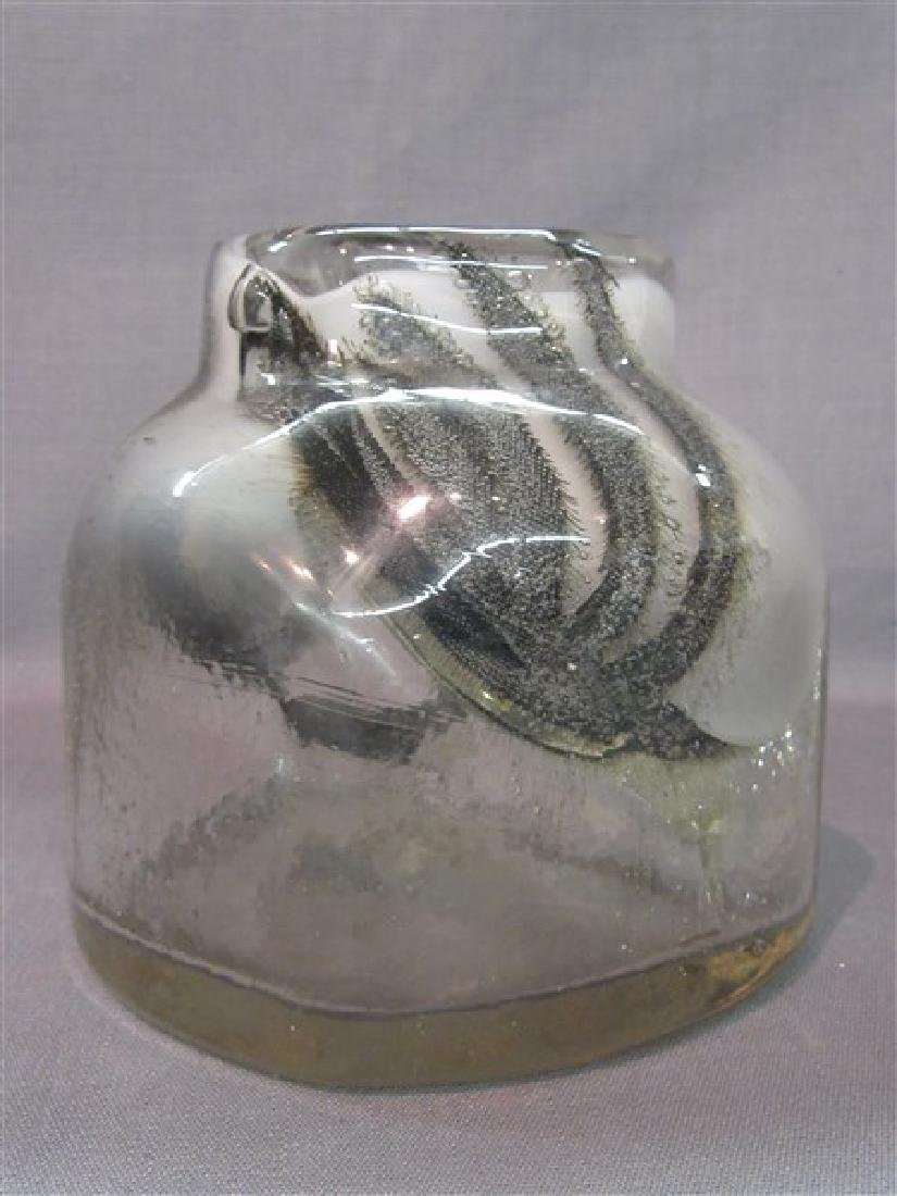 Benny Motzfeldt Studio Art Glass Vase c. 1975 - 3