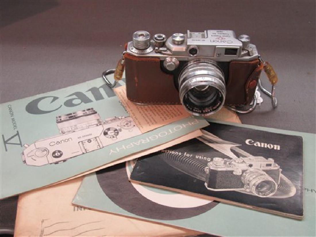 Vintage Canon SLR 35mm Camera