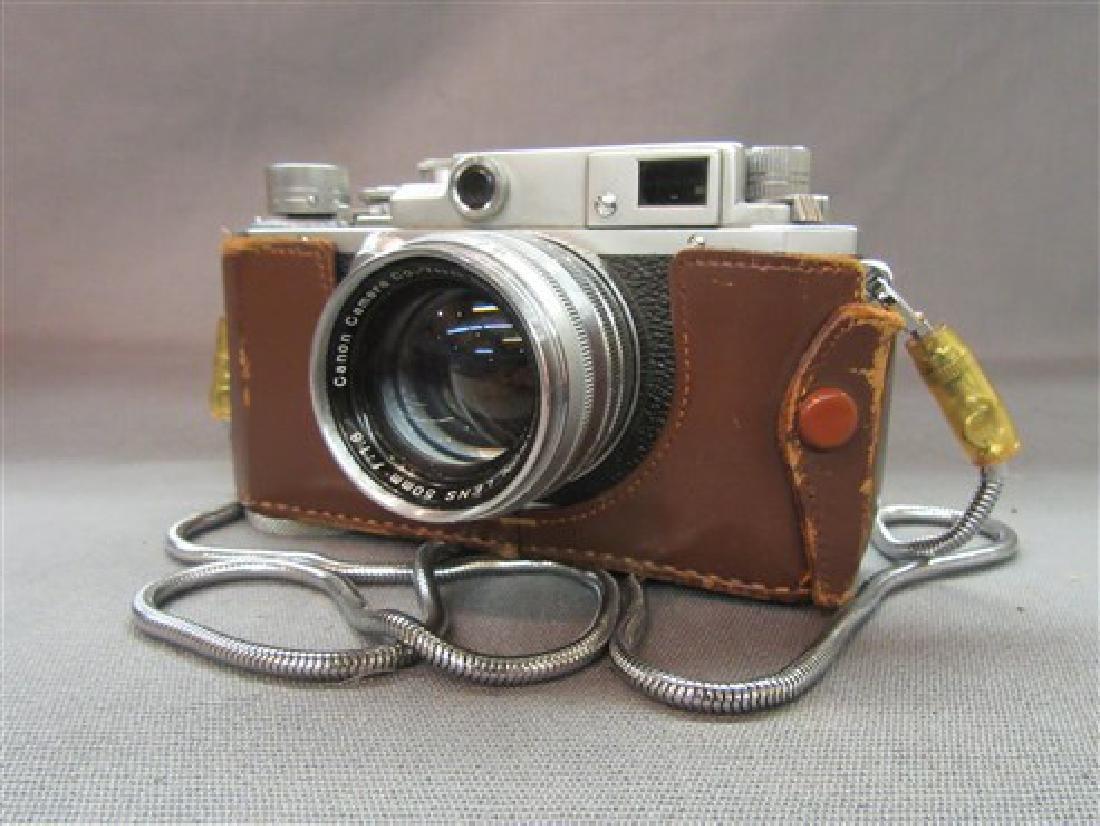 Vintage Canon SLR 35mm Camera - 2