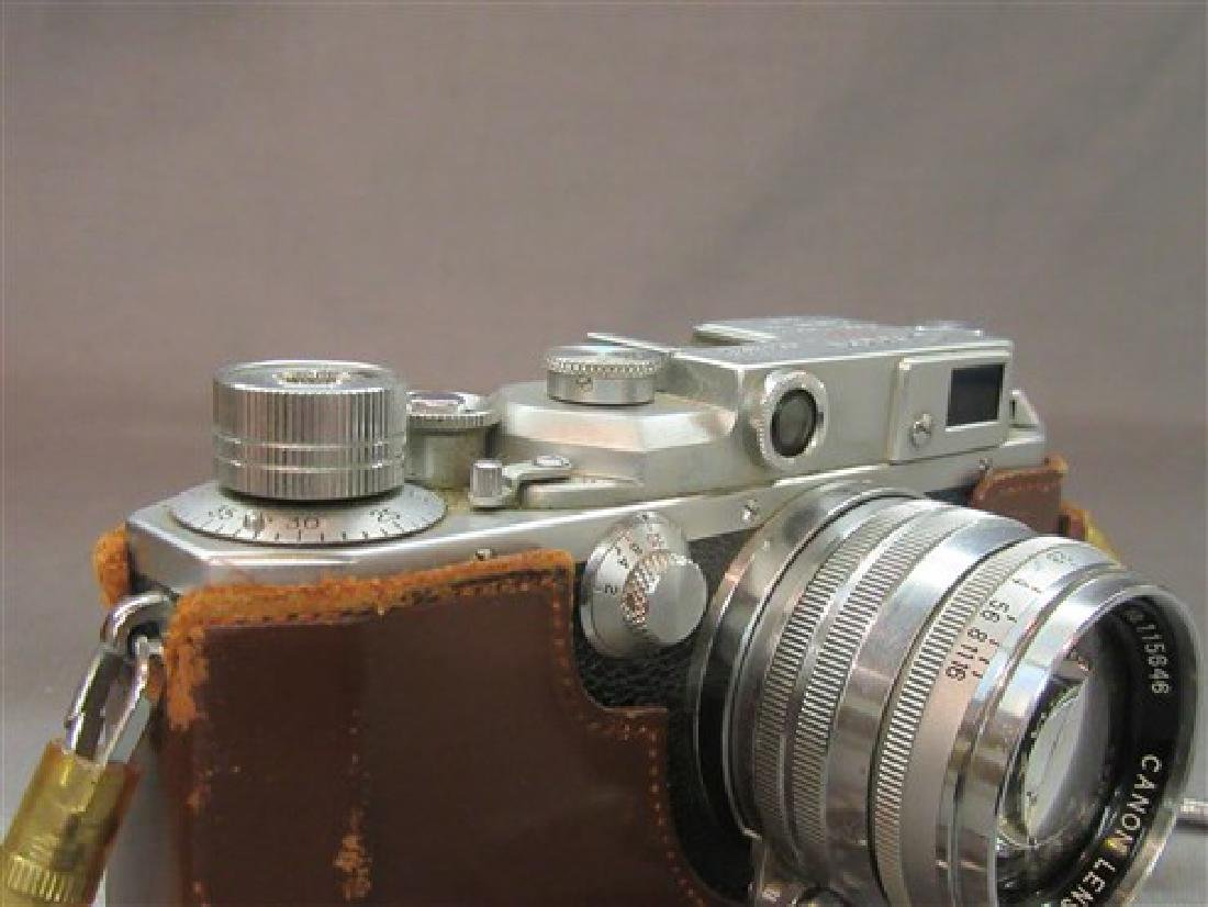 Vintage Canon SLR 35mm Camera - 4