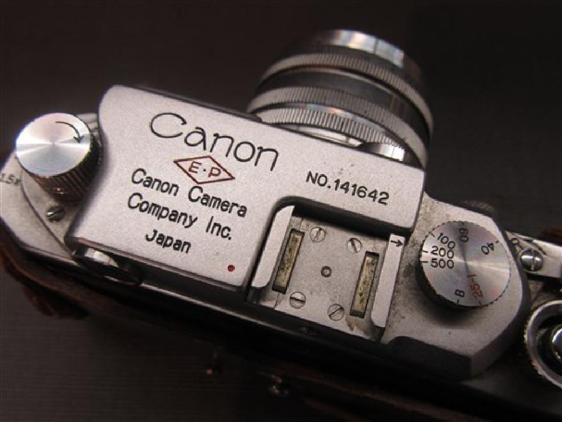 Vintage Canon SLR 35mm Camera - 6