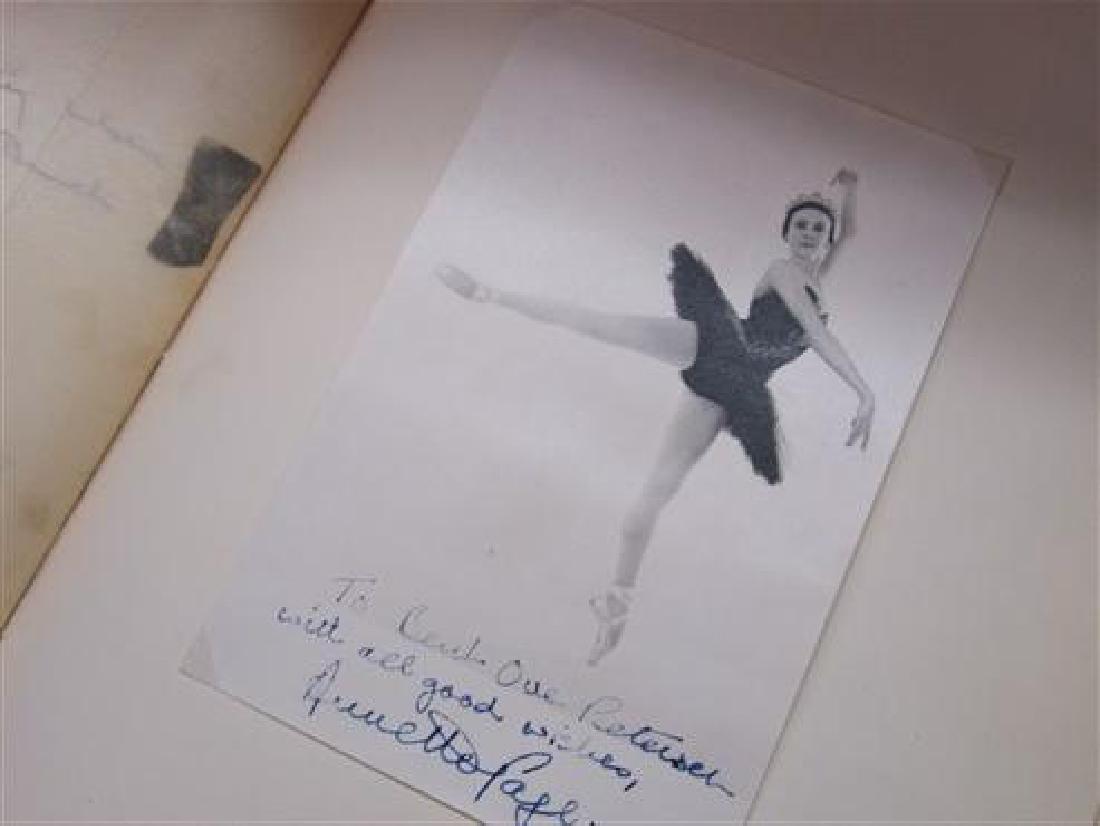 Extensive Ballet Autograph Scrap Book , Jose Greco - 4