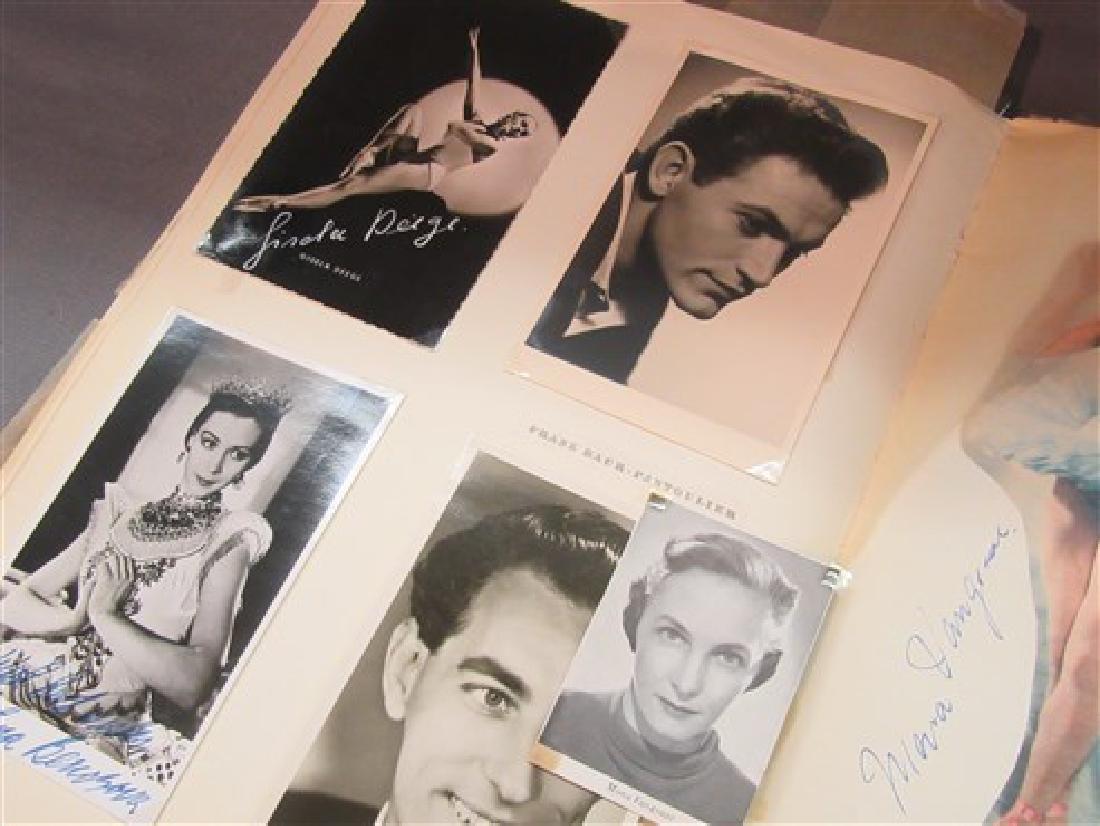 Extensive Ballet Autograph Scrap Book , Jose Greco - 5