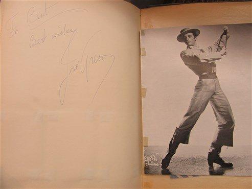 Extensive Ballet Autograph Scrap Book , Jose Greco - 8