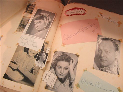 1950's Danish And American Actor's Autograph Scrapbook - 10