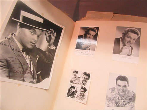1950's Danish And American Actor's Autograph Scrapbook - 3
