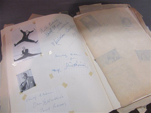 1950's Danish And American Actor's Autograph Scrapbook - 5