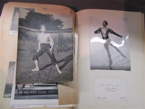 Extensive European Ballet Dancer Autograph Album - 2