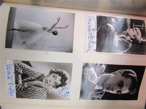 Extensive European Ballet Dancer Autograph Album - 3