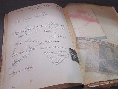 Extensive European Ballet Dancer Autograph Album - 4