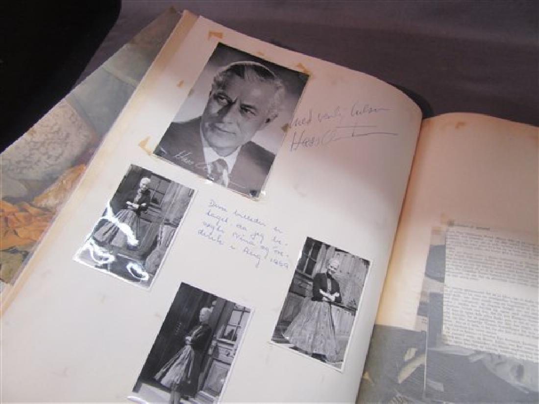 Ballet Dancers Autograph Scrapbook - 10
