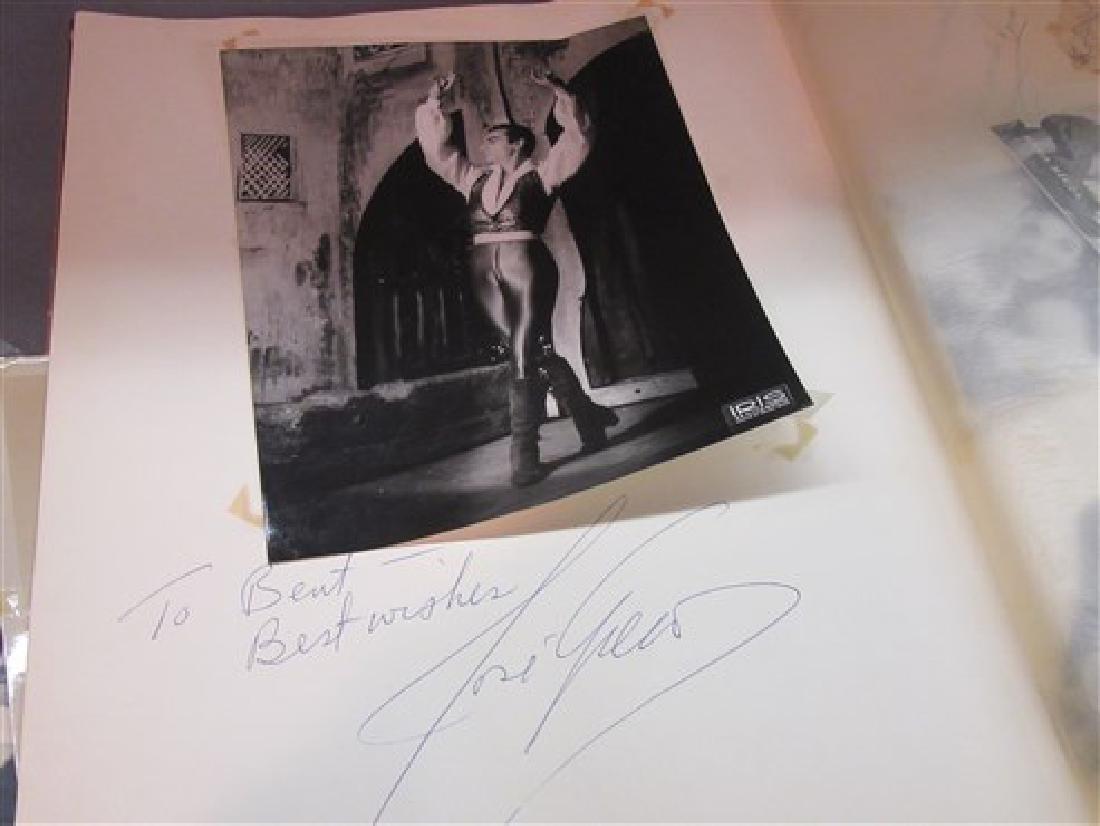 Ballet Dancers Autograph Scrapbook - 4