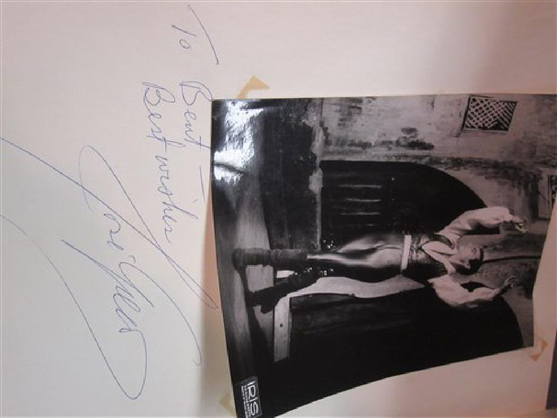 Ballet Dancers Autograph Scrapbook - 5