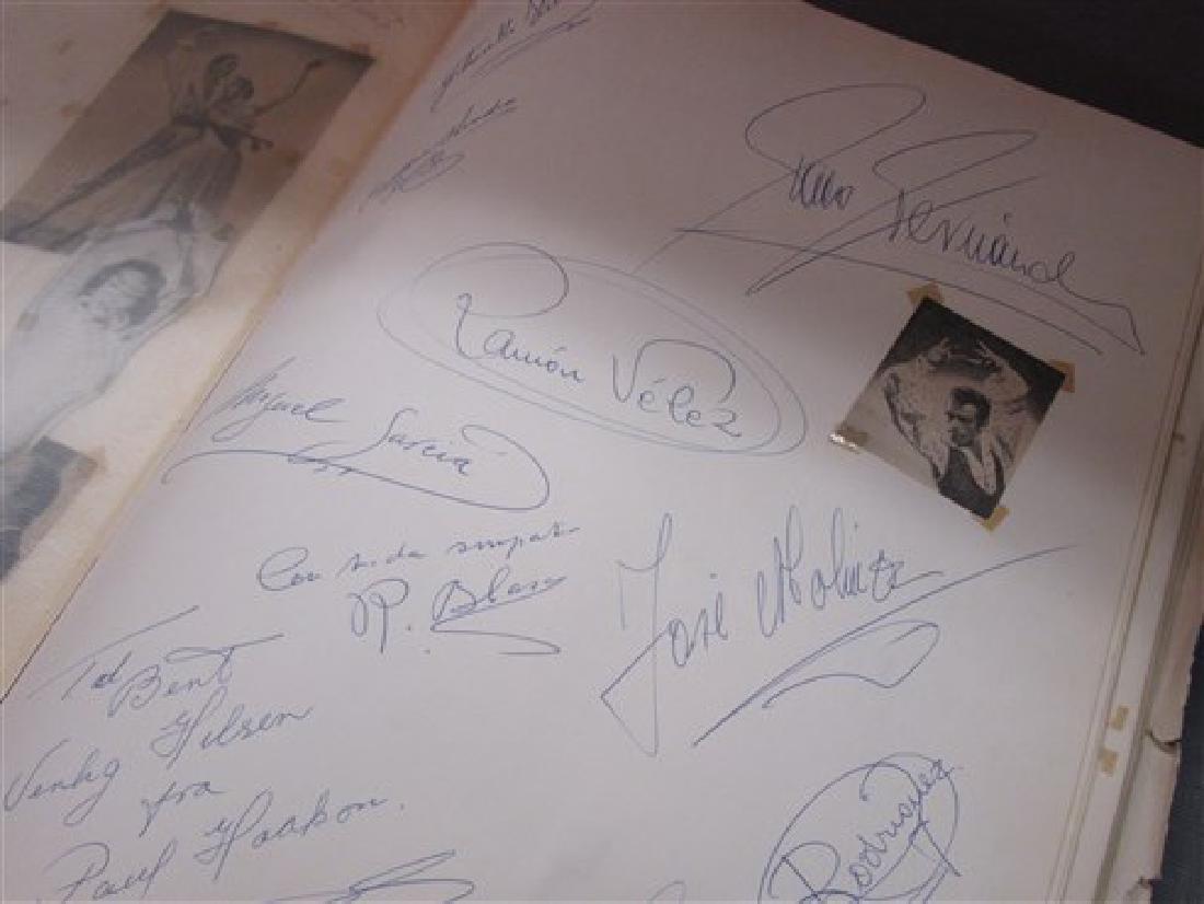Ballet Dancers Autograph Scrapbook - 7