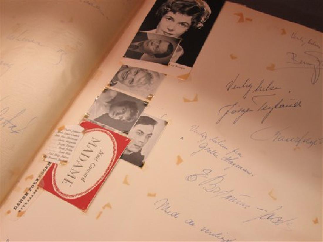 Ballet Dancers Autograph Scrapbook - 9