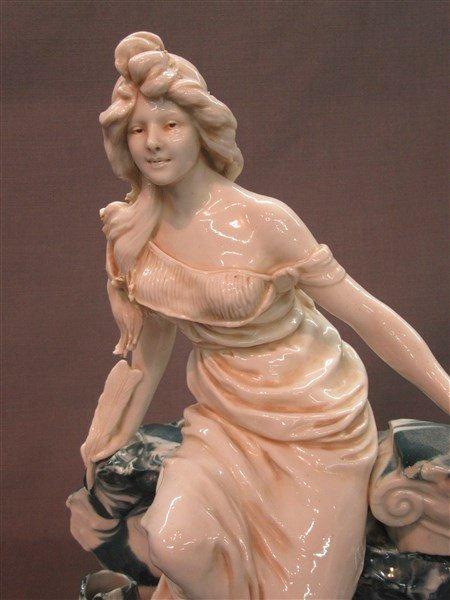 Royal Dux Porcelain Maiden - 2