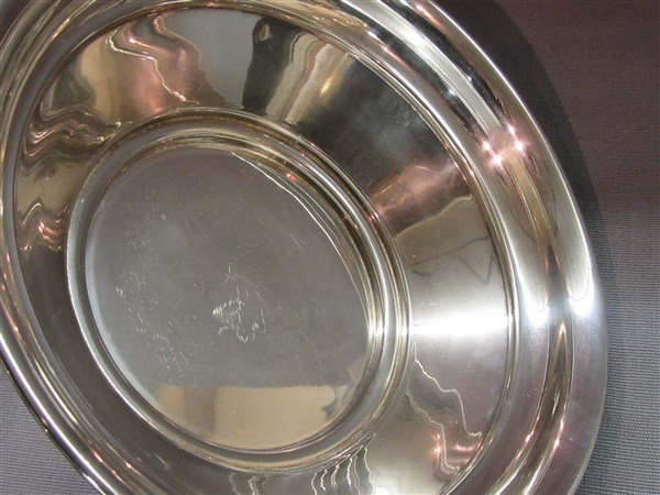 Swid Powell Silver Plate  Ball Footed Serving Bowl - 2