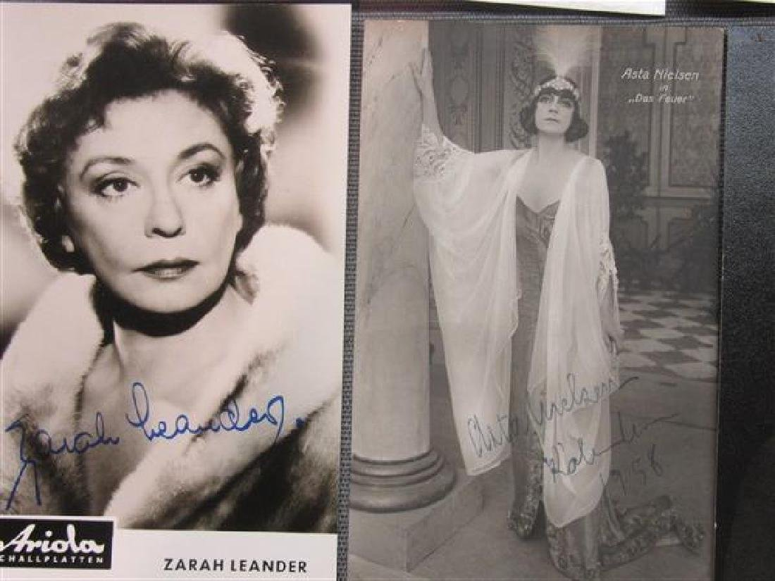 Collection Of Twenty-Two Autographs, Bette Davis - 4