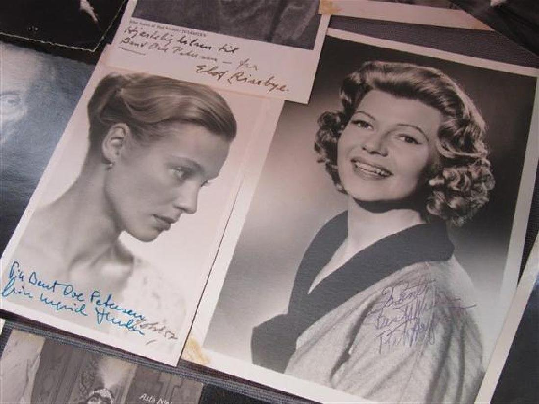 Collection Of Twenty-Two Autographs, Bette Davis - 5